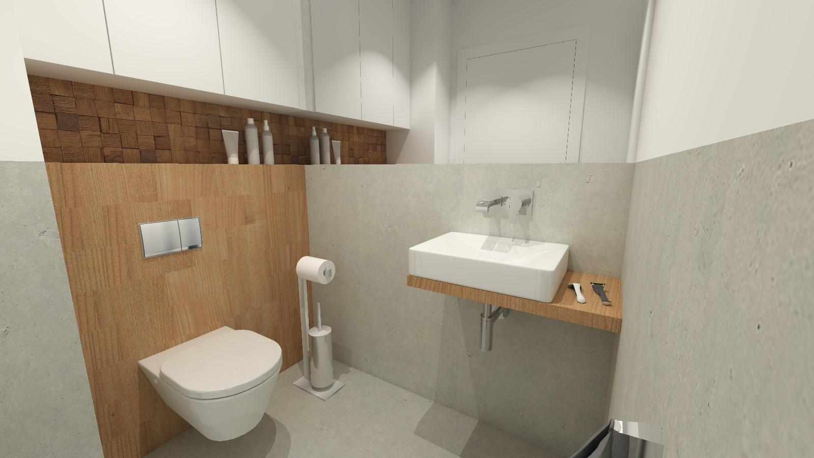 prosta-toaleta-bialo-szaro-drewniana