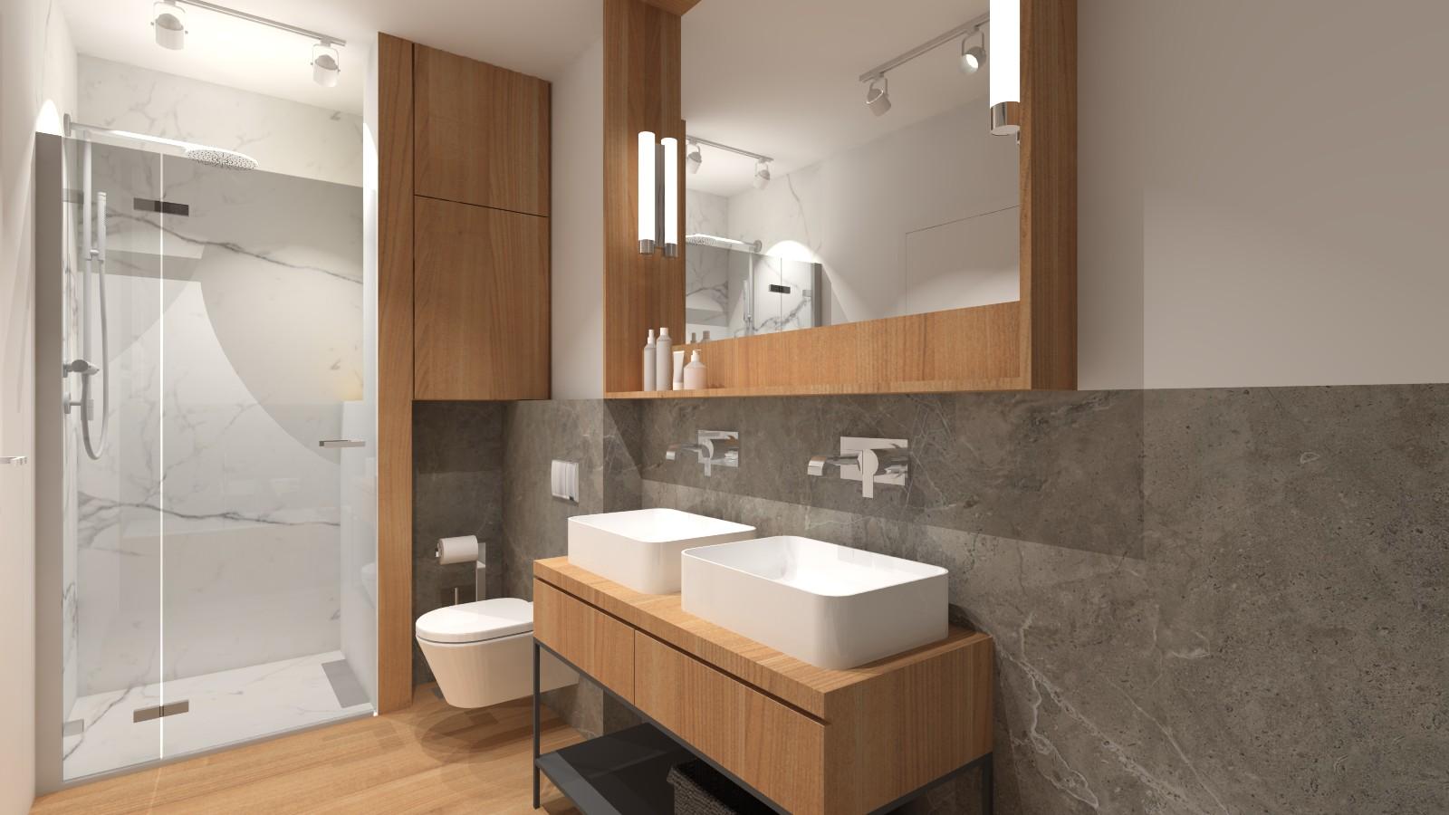 nowoczesna-lazienka-w-bloku-naturalne-kolory-kamien-drewno-szafka-loftowa-dwie-umywalki-1
