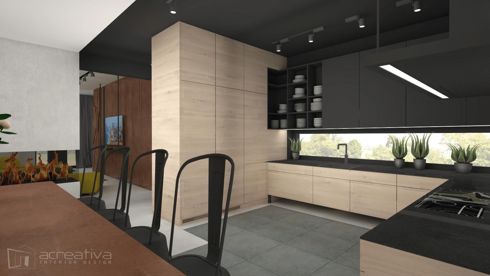 salon_nowoczesny_industrialny_projekt_wnetrz_architekt_online_acreativa.pl_torun_1
